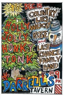 Honky Tonk Christmas Web Flyer
